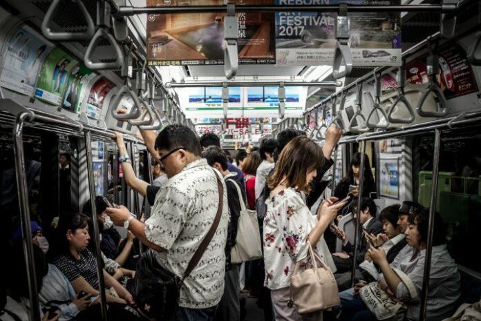 Bus Bahn in Japan
