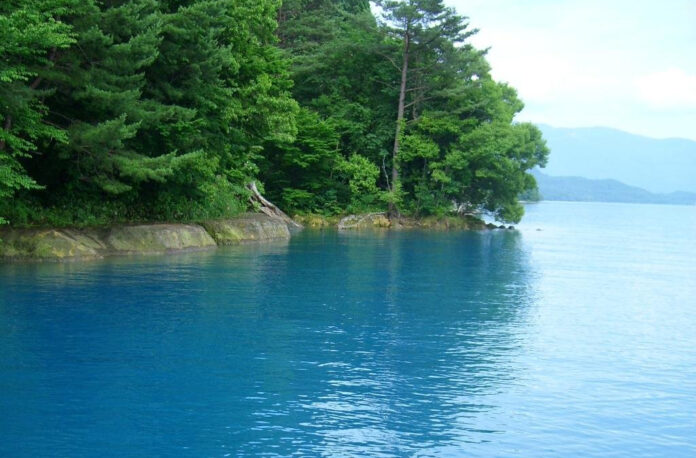 Der Tazawa See in der Präfektur Akita.