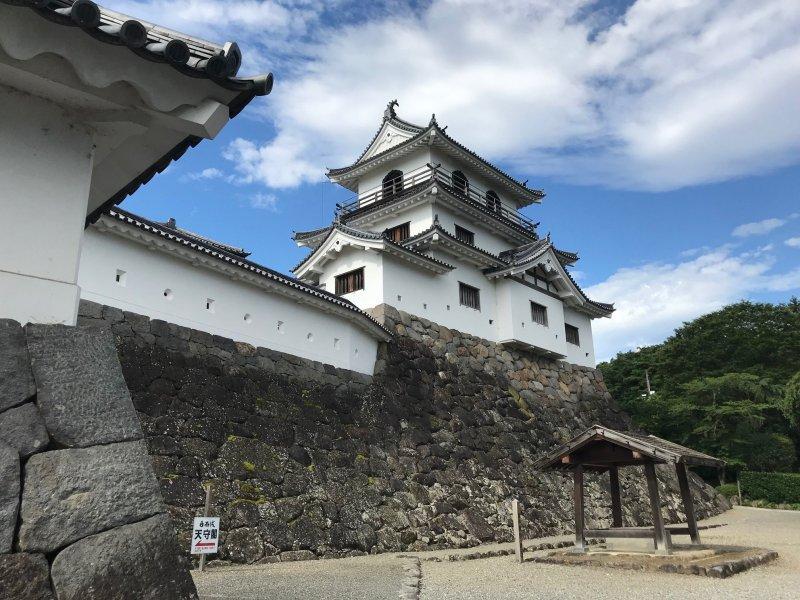 Die Burg Shiroishi in Miyagi.