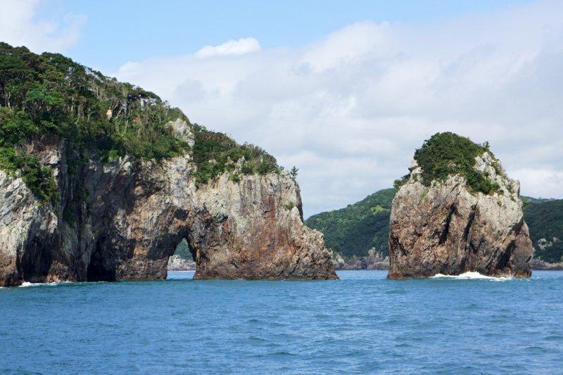 Matsushima in Miyagi gilt als die schönste Bucht Japans.