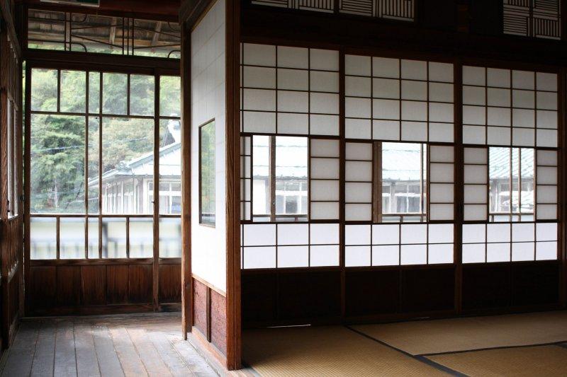 Klassische Elemente verleihen dem Sekizenkan Ryokan sein Flair.