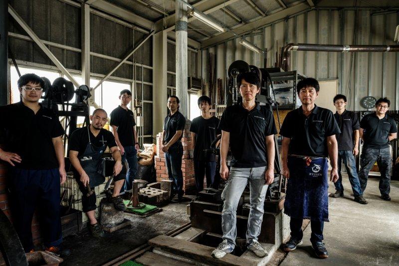 Das Team des Ryusen Hamono.