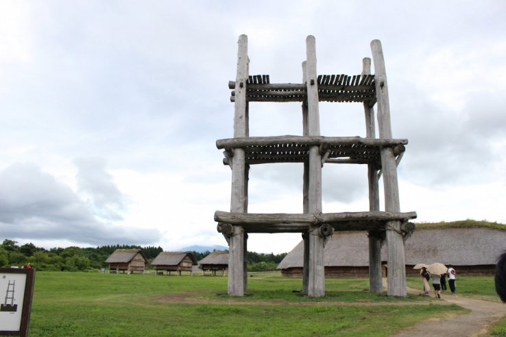 Die Sannai-Maruyama Ausgrabungsstätte in Aomori.