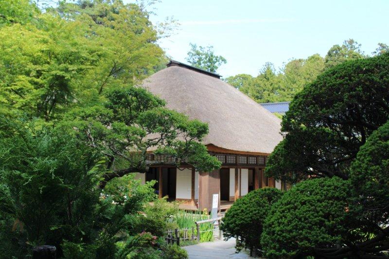 Das Ungai Restaurant ist umgeben vom Garten des Entsuin Tempels.