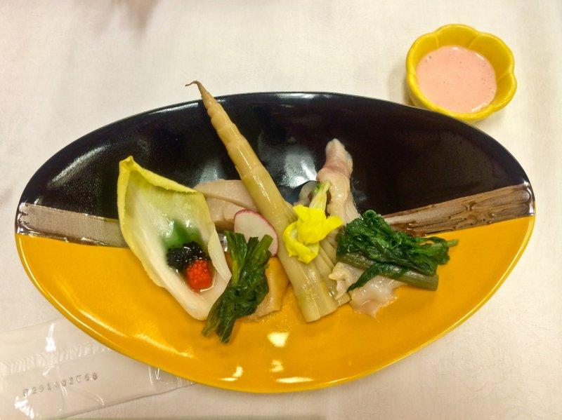 """""""Sansei Ryori"""" - diese Gerichte findet man so nur in der Gegend um Nyuto Onsen."""