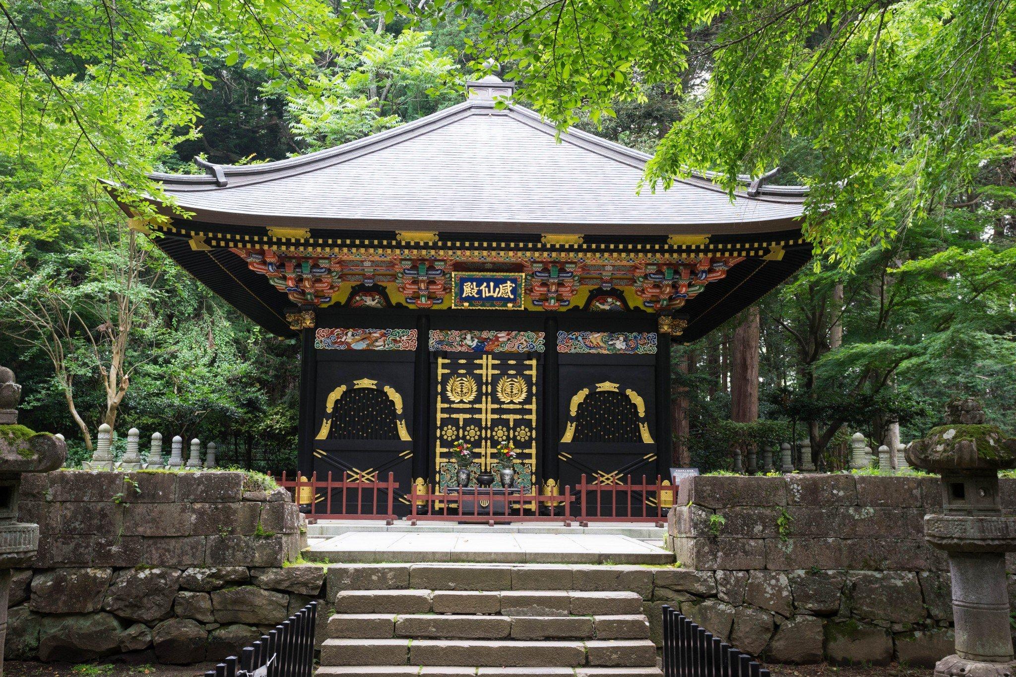 Der Zuihoden ist das Mausoleum von Date Masamune und ein Highlight in Miyagi.