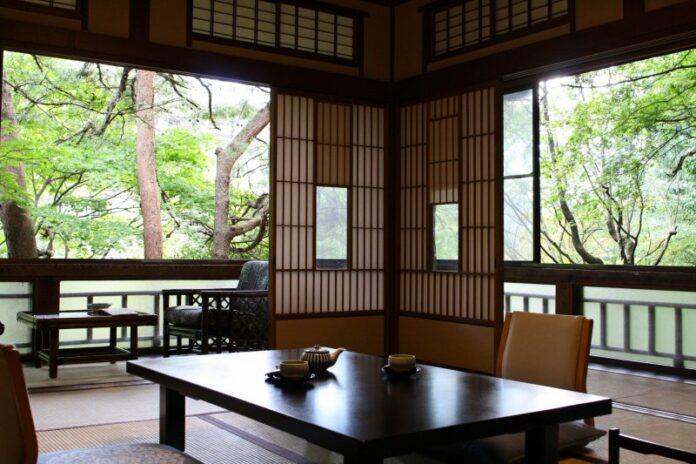 Japanische Ästhetik im Sekizenkan Ryokan.