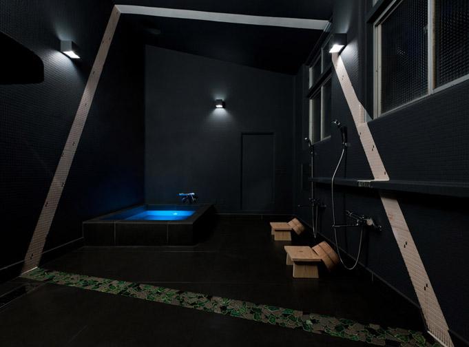Das Bad vereint Tradition und Moderne.