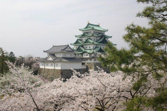 Burg Nagoya in der Präfektur Aichi.