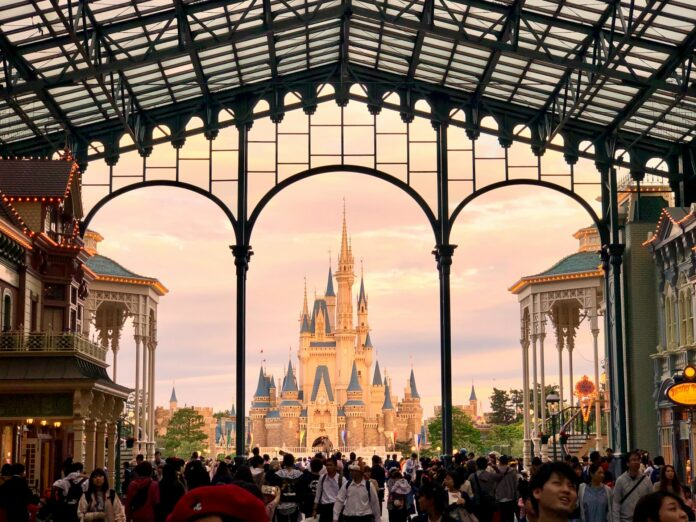 Tokyo Disneyland in Chiba.