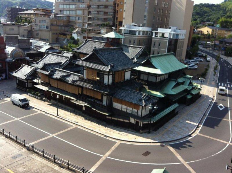 Dogo Onsen in Ehime gilt als der älteste Spa Ort in Japan.