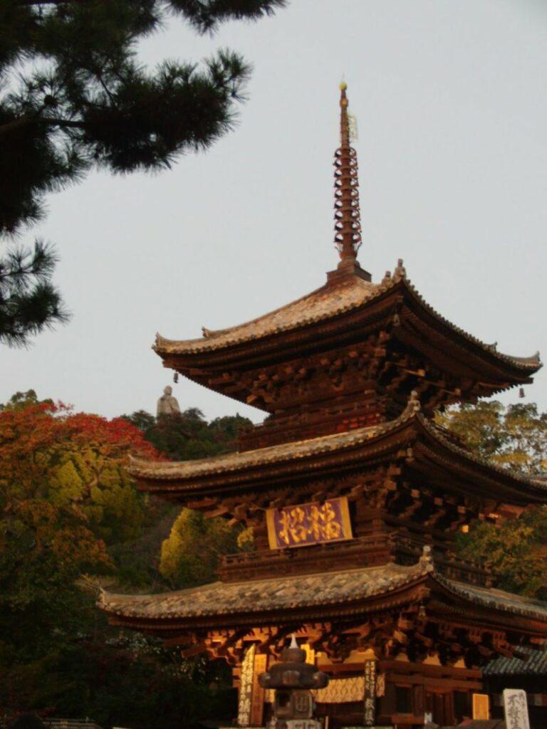 Die Padode des Ishite-ji ist nur einer der Höhepunkte.