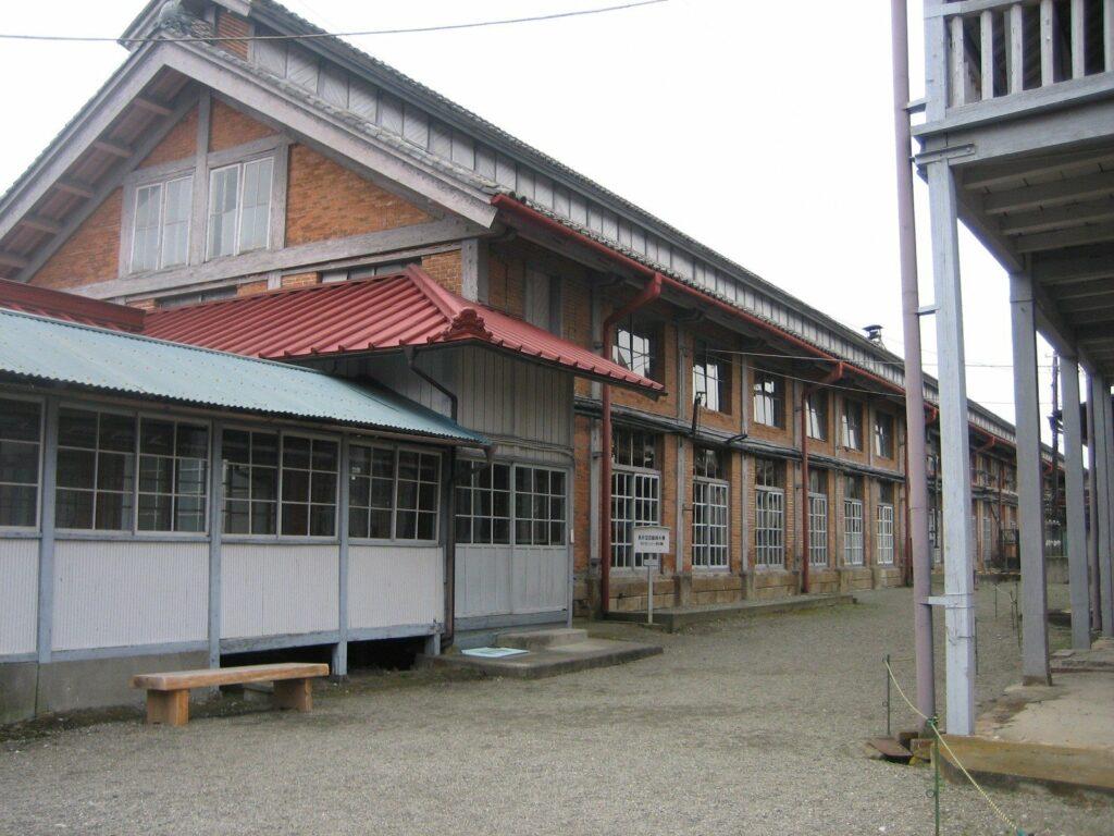 Die Tomioka Seidenfabrik in Gunma ist 150 Jahre alt.