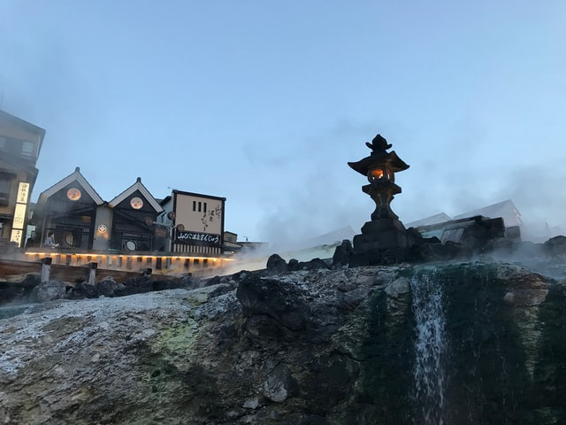Kusatsu Onsen in Gunma bietet ein besonderes Flair.