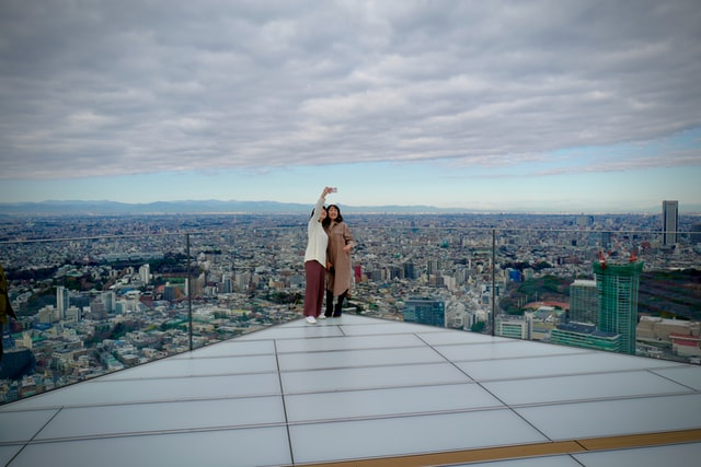 Das Shibuya Sky bietet einen beeindruckenden Ausblick auf Tokyo.