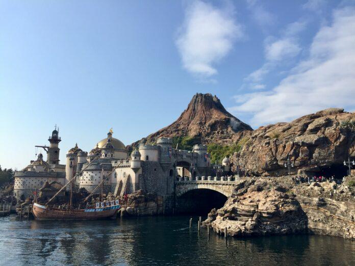 Das Tokyo Disney Sea in Chiba.