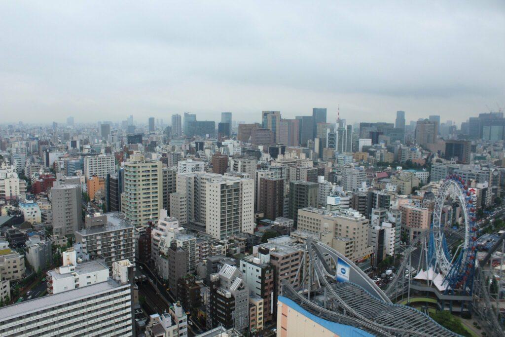 Ausblick vom Bunkyo Civic Center in Tokyo.