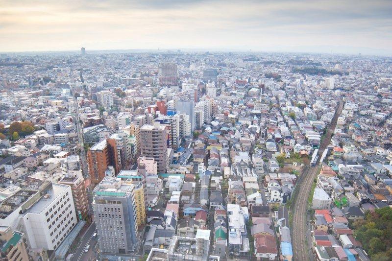 Von der Aussichtsplattform des Carrot Towers kann man kostenlos den Ausblick genießen.