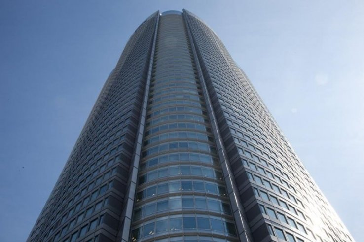 Der Roppongi Hills Mori Tower bietet einen Ausblick aus dem 52. Stock.