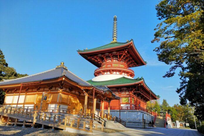 Der Naritasan Shinsho-ji Tempel in Chiba.