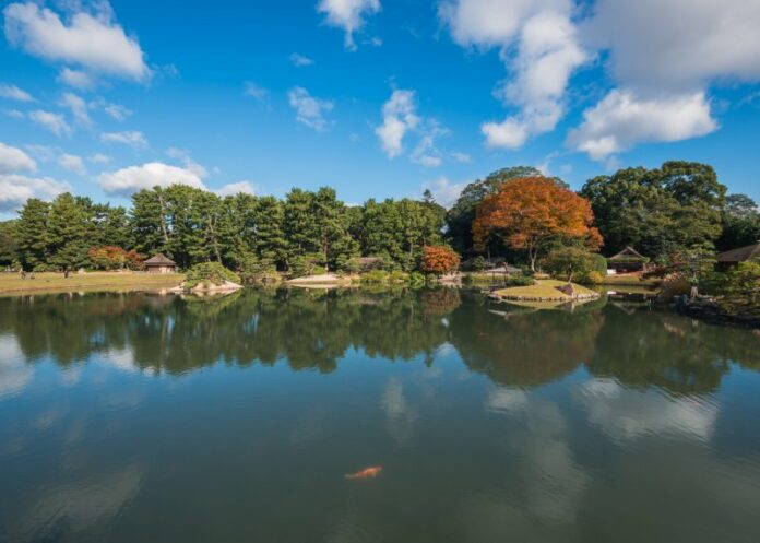 Der Korakuen Garten gehört zu den drei schönsten Gärten Japans.