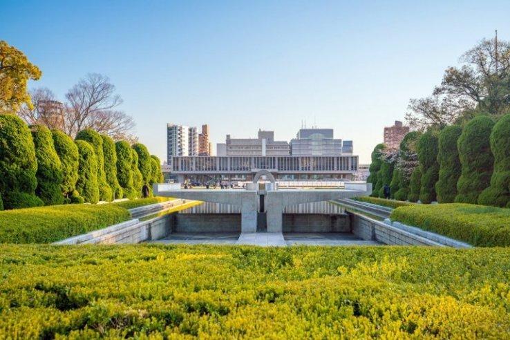 Das Friedensmuseum Hiroshima befindet sich ebenfalls im Friedenspark.