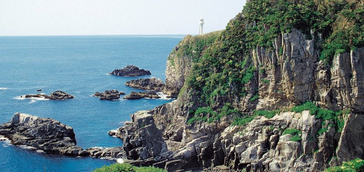 Das Kap Ashizuri.