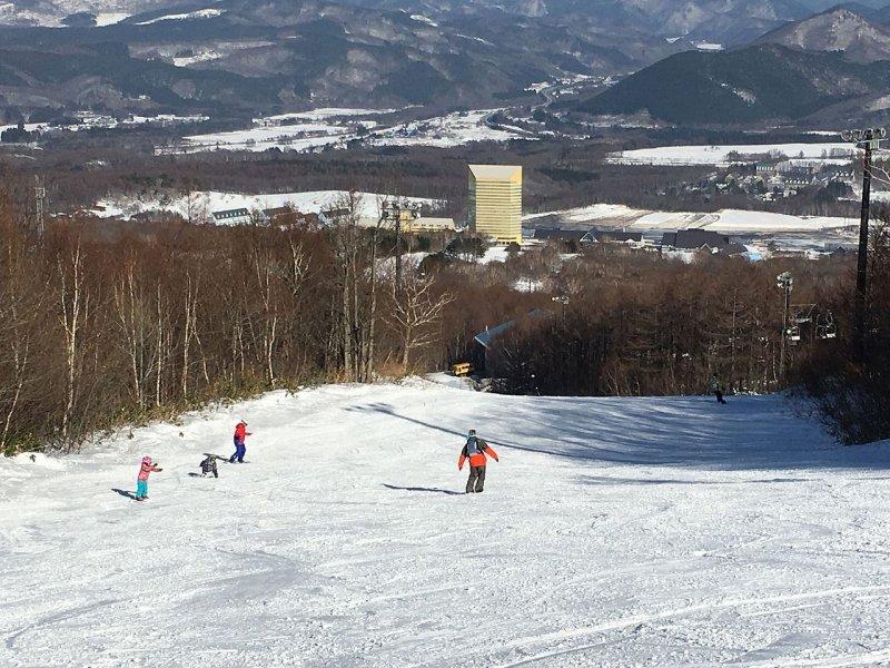 Appi Kogen Ski Resort.