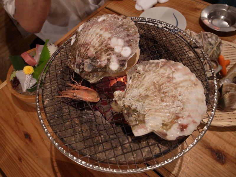 """Kaizoku ryori, """"Piraten-Essen"""" aus Tokushima auf Shikoku."""