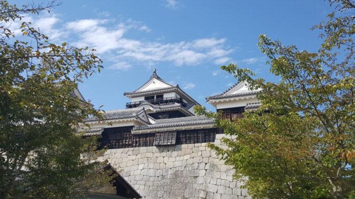 Burg Matsuyama in Ehime.