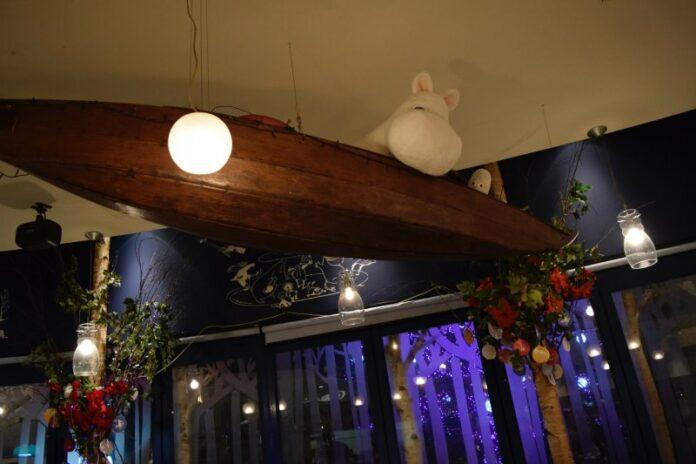 Das Mumin Cafe in Fukuoka bietet Mumin-Fans viele Überraschungen.