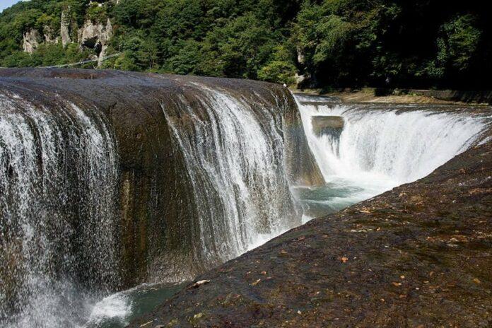 Fukiware Wasserfälle in Gunma.
