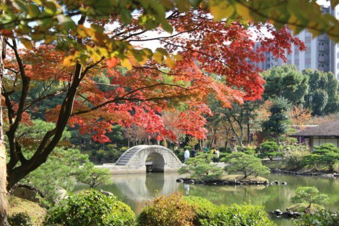 Shukkeien Garten in Hiroshima.