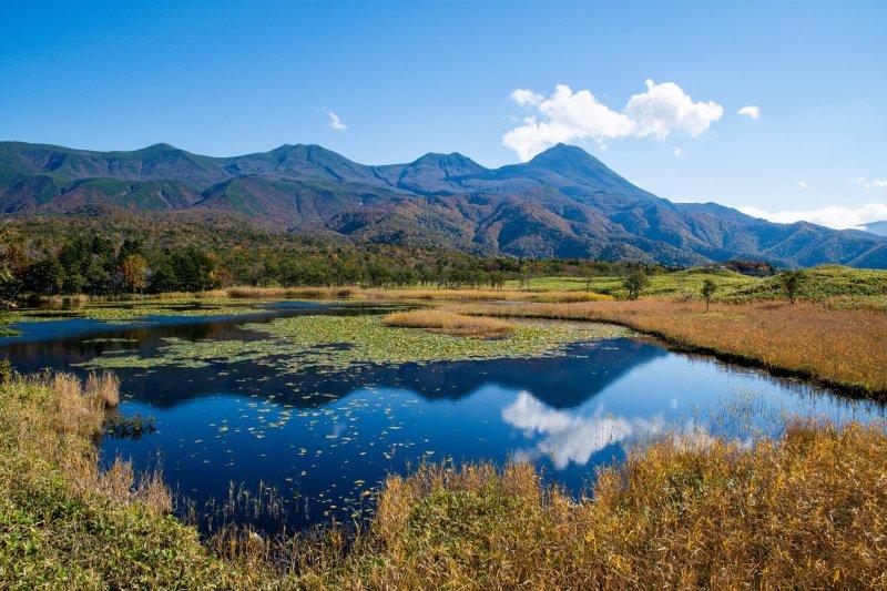 Der Shiretoko Nationalpark in Hokkaido.