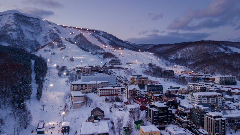 Niseko ist ein Paradies für Wintersportler*innen.
