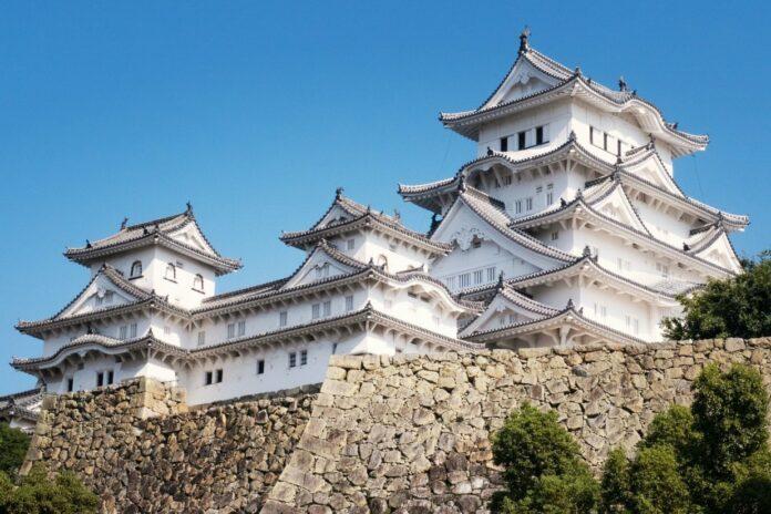 Burg Himeji in Hyogo.
