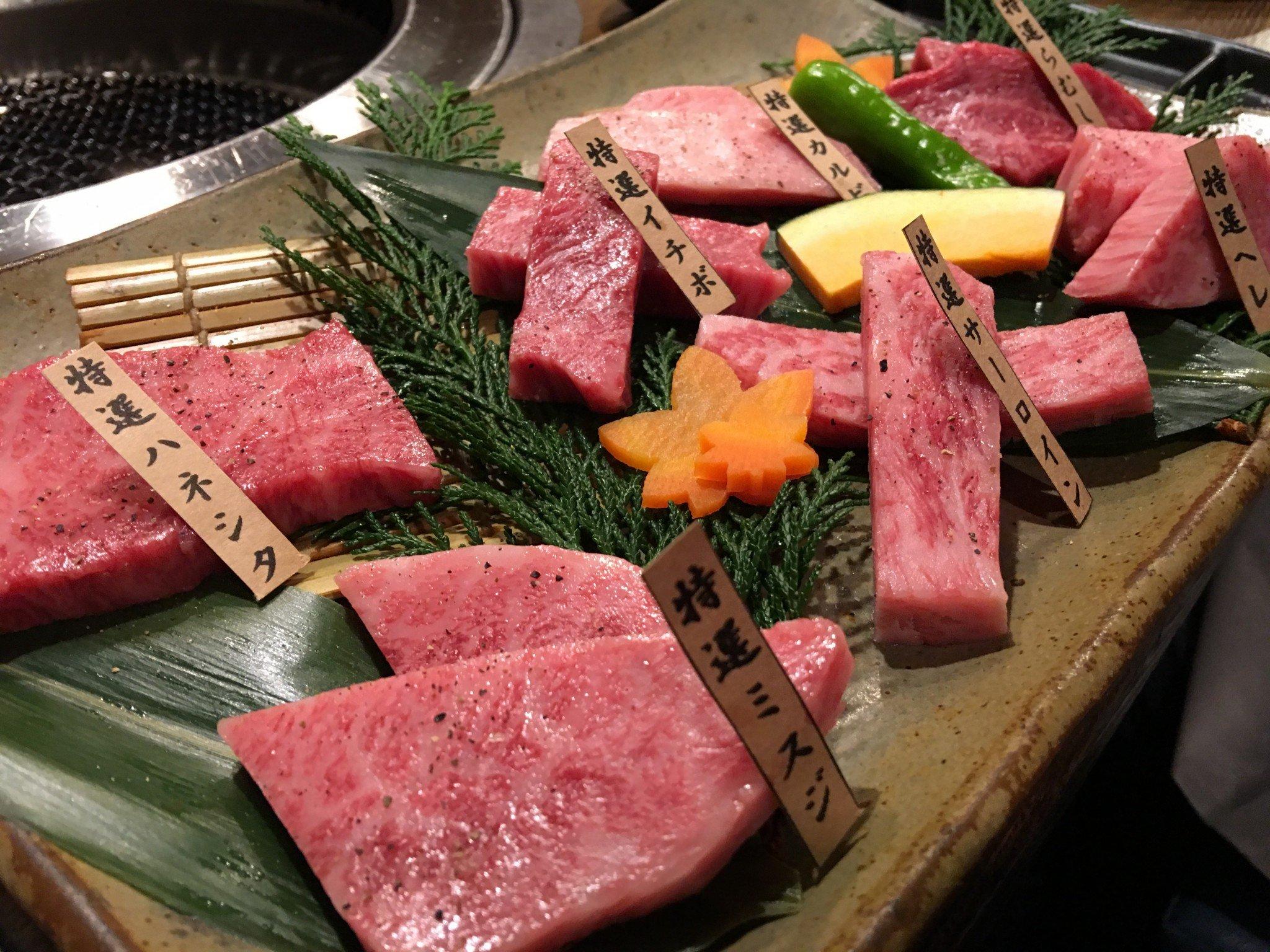 Kobe Beef ist eines der Highlihts in der Kansai Küche.