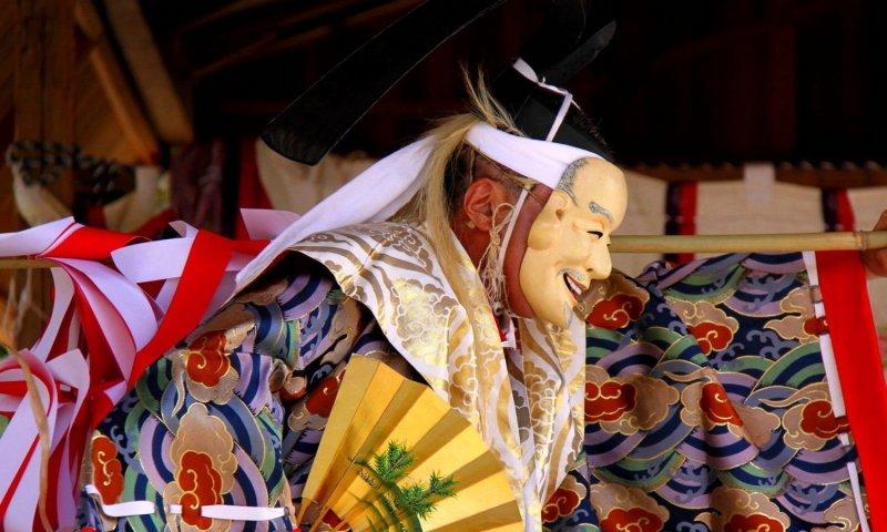 Kagura ist eine Tradition in Shimane.
