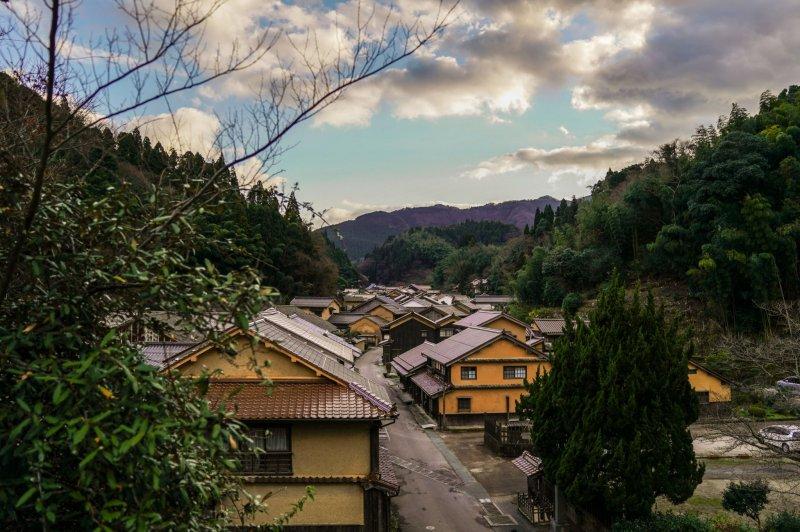 Idylle in Iwami-Ginzan Omori-cho, Shimane.