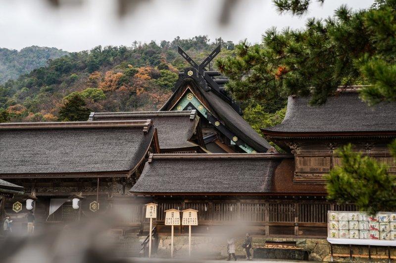 Der Izumo Taisha Schrein ist einer der ältesten Schreine des Landes.