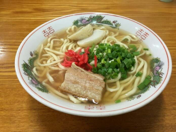Die regionale Küche in Kyushu, Japan.