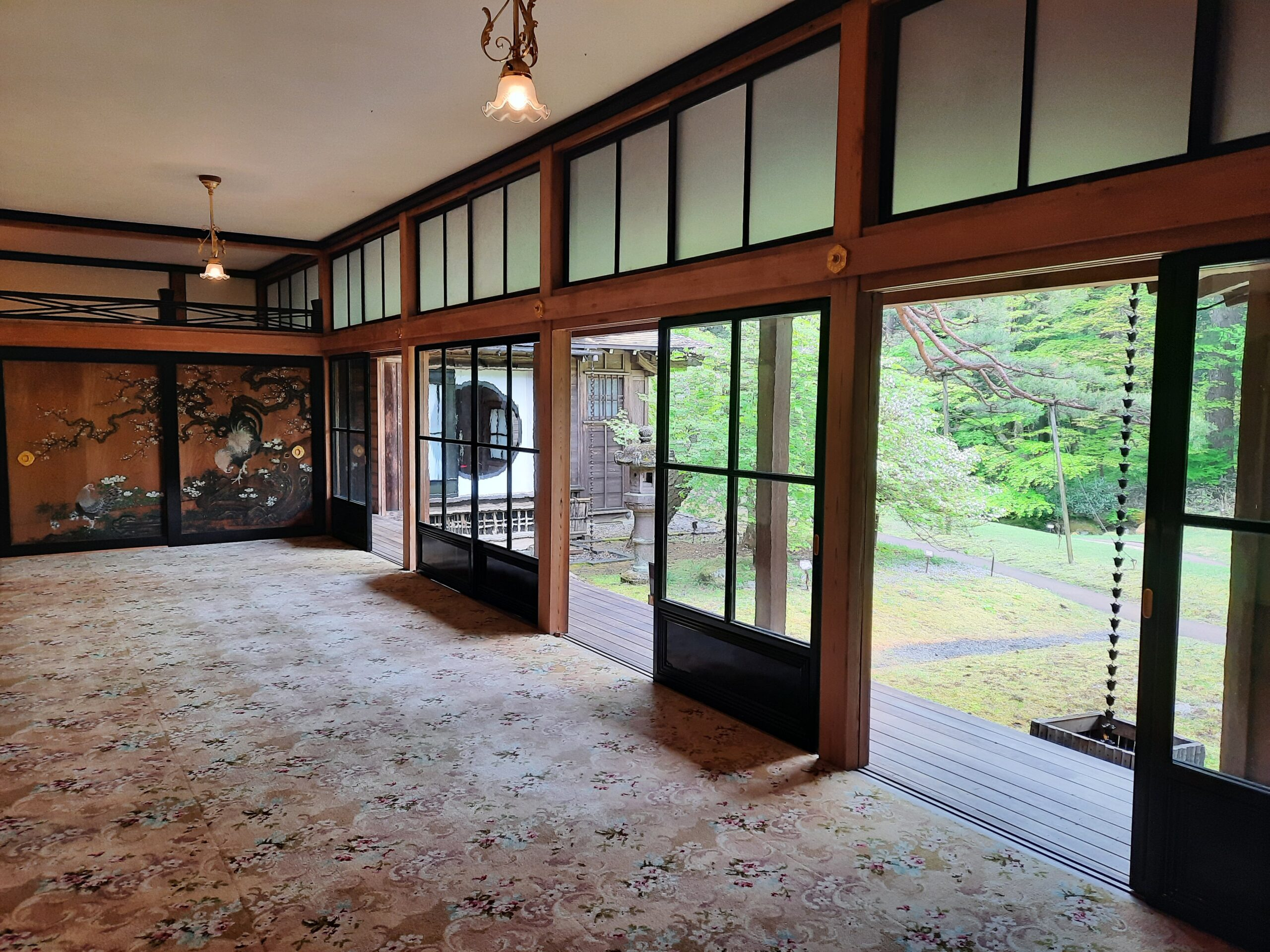 Die Tamozawa Imperial Villa von innen