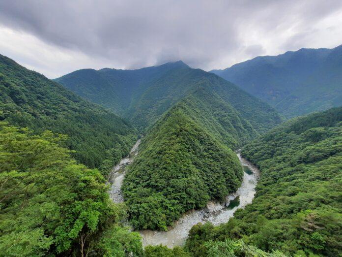 Das Iya Tal auf der Insel Shikoku