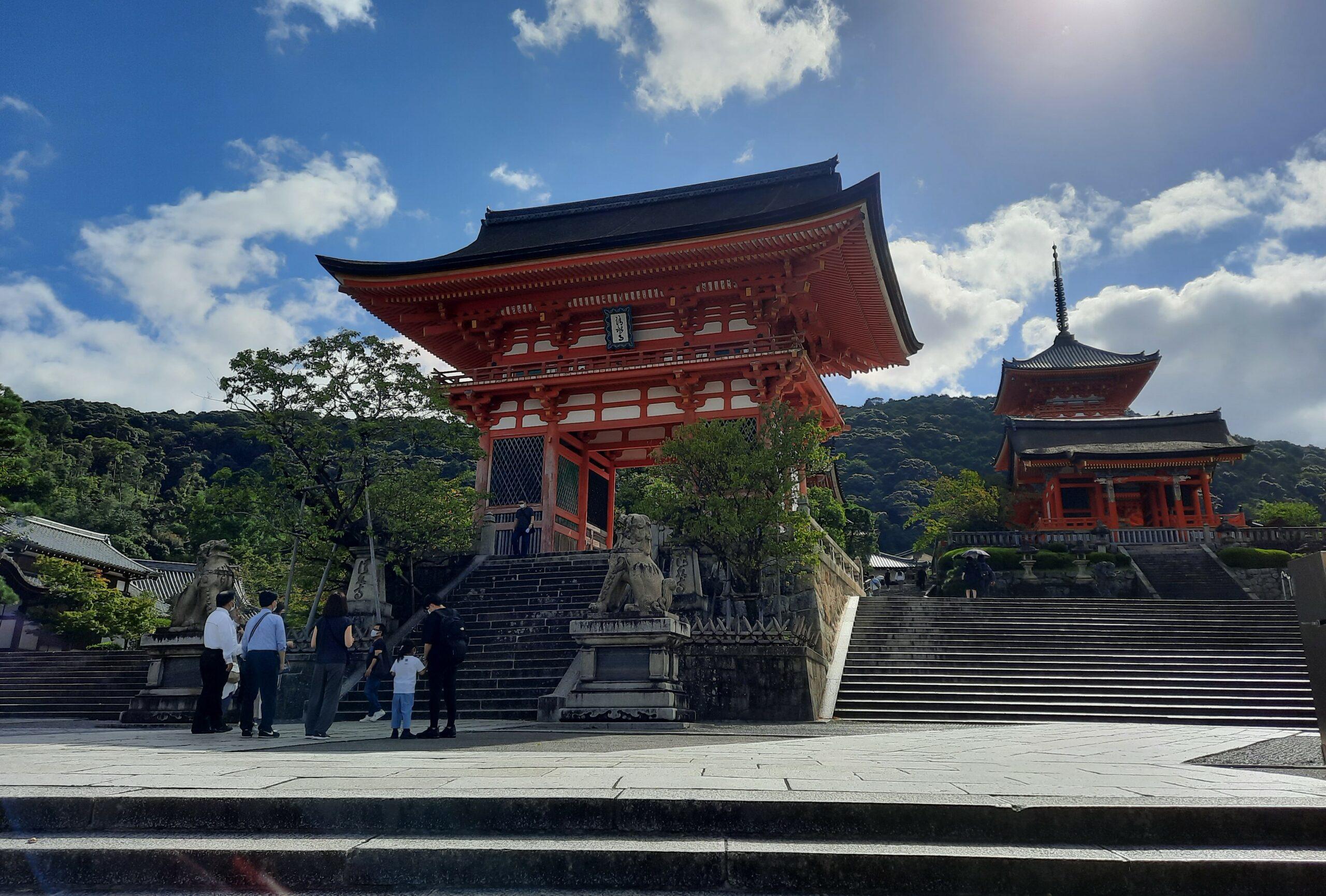 Weg zum Kiyomizu-dera