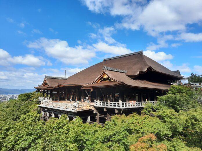 Kiyomizu-dera Temepl in Kyoto