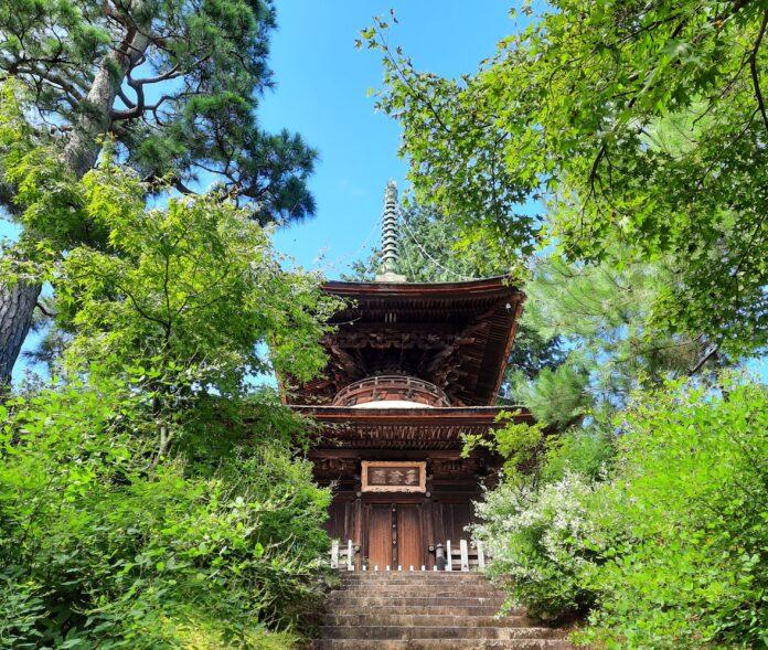 Der Jojakkoji Tempel in Kyoto