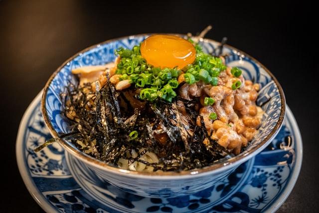Natto ist ein wichtiger Bestandteil der japanischen Küche.