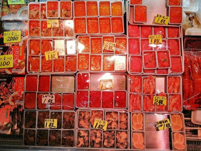 Nokkedon ist das Aushängeschild beim Furukawa Fischmarkt.