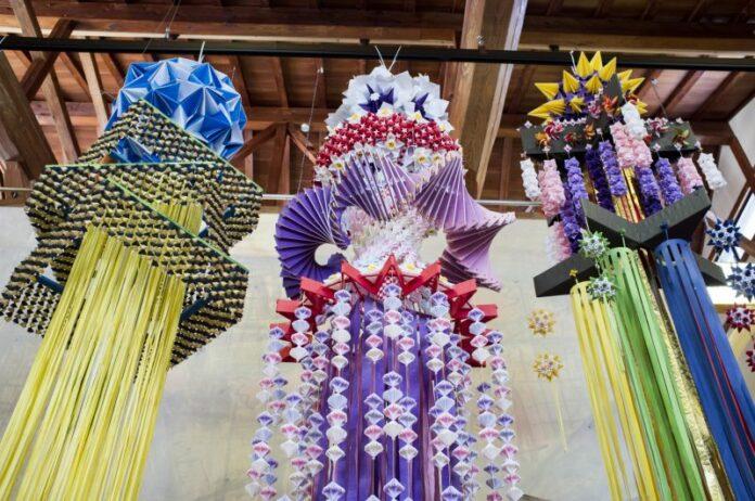 Herstellung von Washi Papier ist ein uraltes Kunsthandwerk.