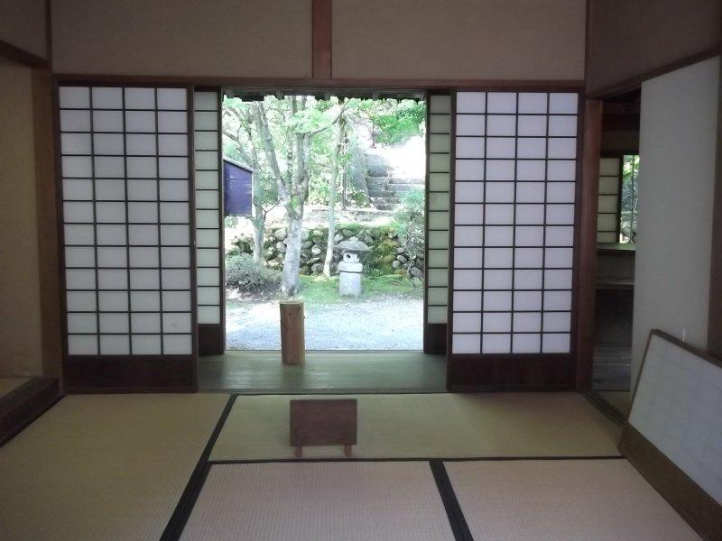 Einer der Wohnräume der Aizu Samurai Residenz.